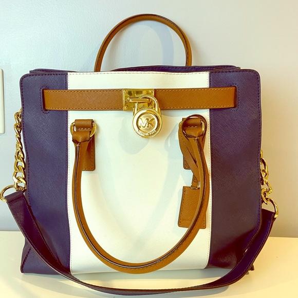 Authentic Michael Kors Large Hamilton satchel